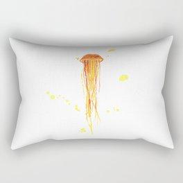 Tangerine Squishy Rectangular Pillow