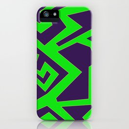 Lines and Colors iPhone Case