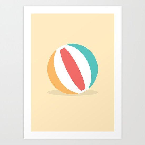 #37 Beachball Art Print