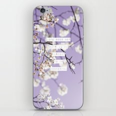 Life Does Not Have To Be Perfect To Be Wonderful iPhone & iPod Skin