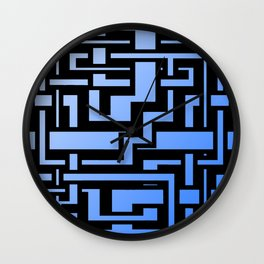 Abstract Sky Labirint Wall Clock