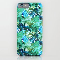 Palm Leaf Green Slim Case iPhone 6s