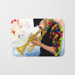 The Colors of Jazz Bath Mat