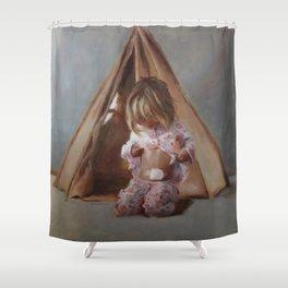 Self-reliance Shower Curtain