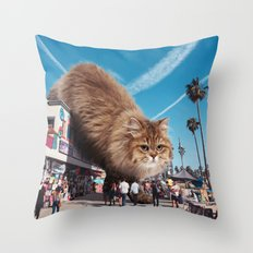 Venice Monster Throw Pillow