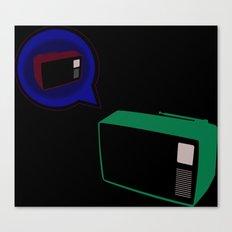 True TV Love Canvas Print