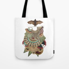 Collector: The Bat // Jess Polanshek Tote Bag