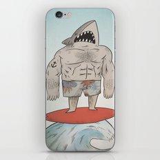 Surf Shark iPhone & iPod Skin