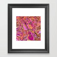 Dance to the Music Framed Art Print