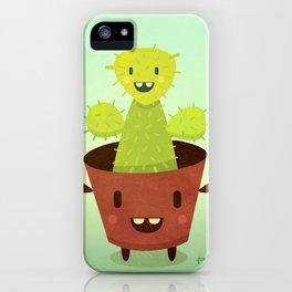 Cactusini iPhone Case