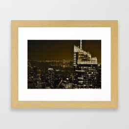 All Through The Night Framed Art Print