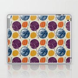 Leaves and yarns Laptop & iPad Skin