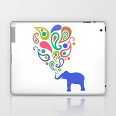 Multi-Colored Paisley Elephant Pattern Design Laptop & iPad Skin