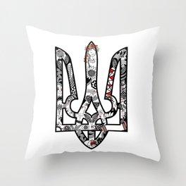 Ukrainian symbol Throw Pillow