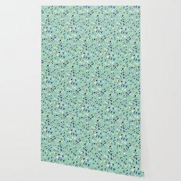 Italian Seafoam Terrazzo Wallpaper
