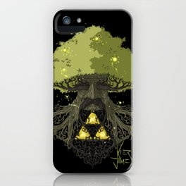 Deku Tree Full Colour iPhone Case