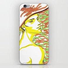 summer girl 1 iPhone & iPod Skin