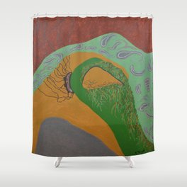 Explicitly Shower Curtain