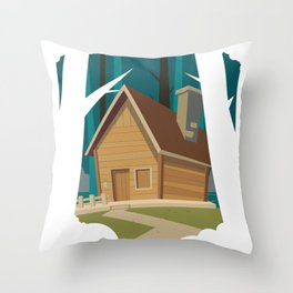 Traditional Country Throw Pillow
