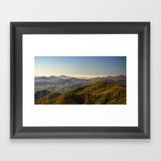As far as the eye can see...  Framed Art Print