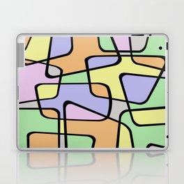 Mid Century Pastel Art Laptop & iPad Skin