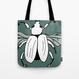 It's a beetle and it has wings. Tote Bag