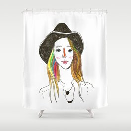 Lorena - SuperFriends Collection Shower Curtain