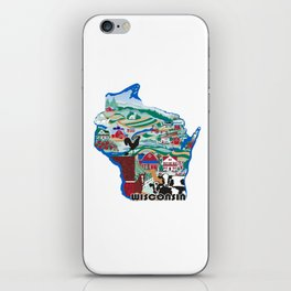 Wisconsin Country Sampler iPhone Skin