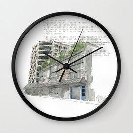 41 Victoria Street Wall Clock