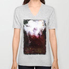 Fairies by the Waterside Unisex V-Neck