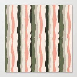 Rippy Strips Canvas Print
