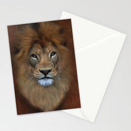 The Lion Known As King Of The Beasts Stationery Cards