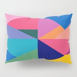 Geometric Color Block Pillow Sham