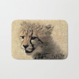 Cheetah cub Bath Mat