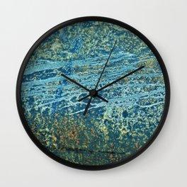 Rustic Pattern Wall Clock