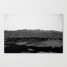 These Are The Vistas Canvas Print