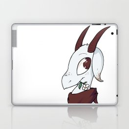 Goat with a flower Laptop & iPad Skin