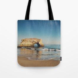 Natural Bridges State Beach ... Tote Bag
