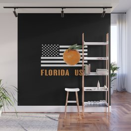Florida Oranges Wall Mural