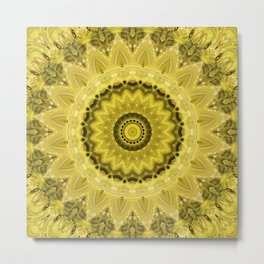 Mandala Protection Metal Print