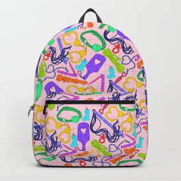 Toys, toys, toys Backpack