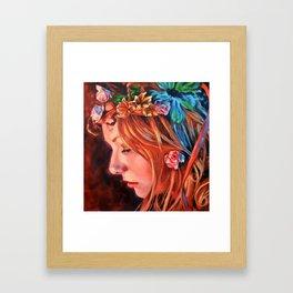 A Sara Fairy Framed Art Print