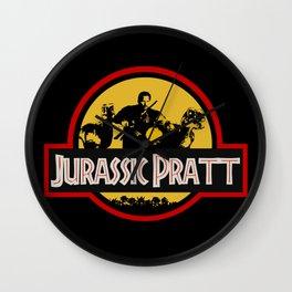 Jurassic Pratt Wall Clock