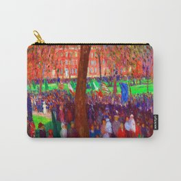 William Glackens Parade Washington Square Carry-All Pouch