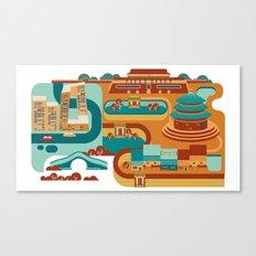 Beijing Canvas Print
