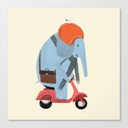 the elephant mobile Canvas Print