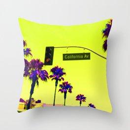 California avenue Throw Pillow