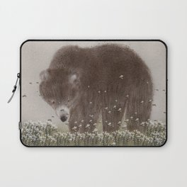 The flight of the bumble bee Laptop Sleeve