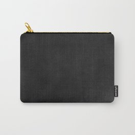Simple Chalkboard background- black - Autum World Carry-All Pouch