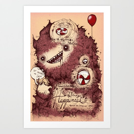 Antidepressants  Art Print